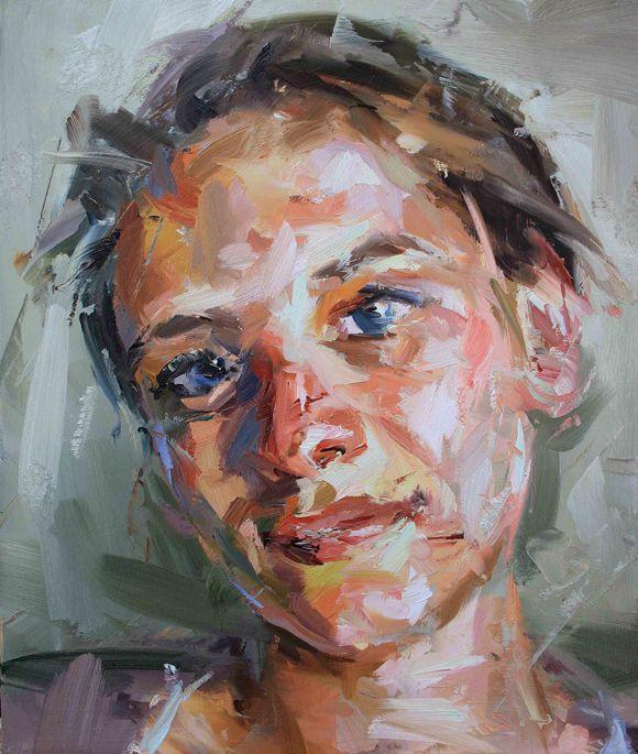 expressive portrait painting - Google Search