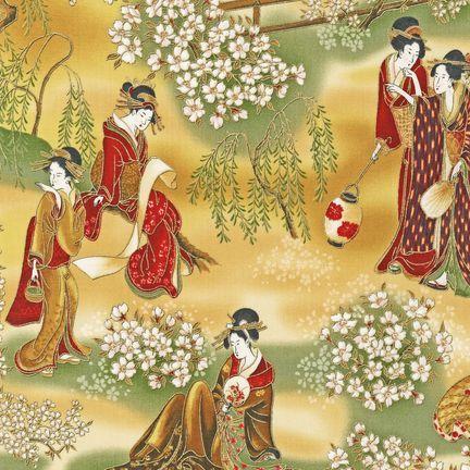 Robert Kaufman - Oriental Traditions 7 ETJM-9503-199 ANTIQUE