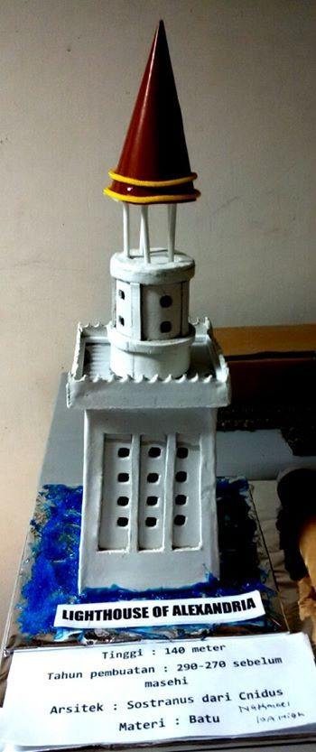 uphc students project. Lighthouse of Alexandria by Nathanael. Grade 10