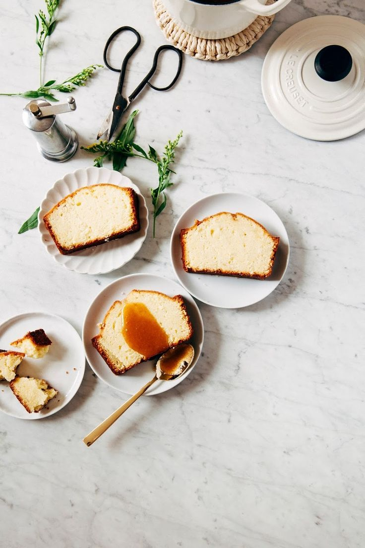 Organic Valley Hot Buttered Rum Pound Cake