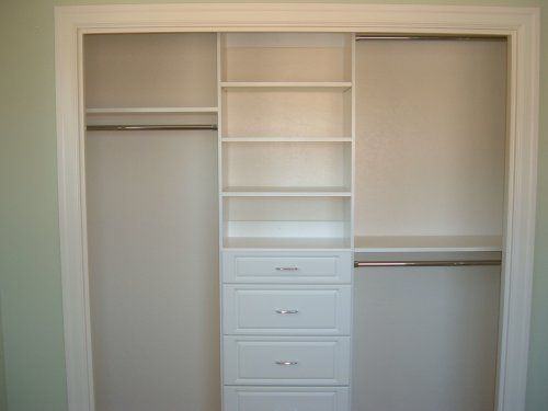 built-in wardrobe organisation