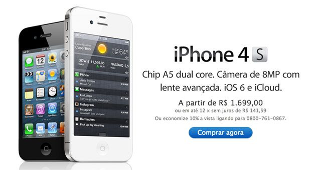 Apple Brazil cuts prices on iPhone 4 and iPhone 4S