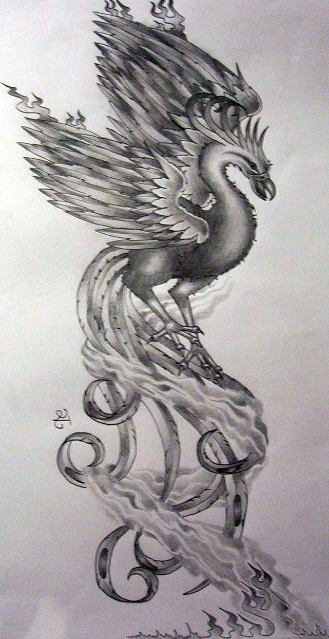 32 best girly phoenix tattoos images on pinterest phoenix bird tattoos phoenix tattoo design. Black Bedroom Furniture Sets. Home Design Ideas