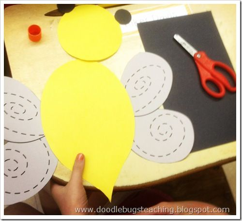 Ladybugs, Bumble Bees and Butterflies | doodlebugsteaching.blogspot.com