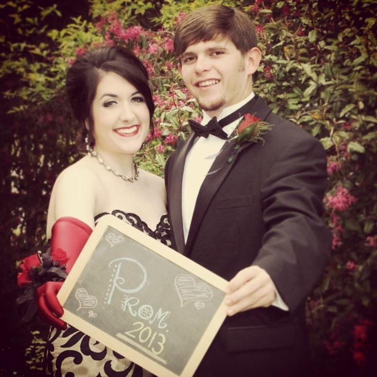 Prom Picture Idea.