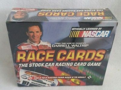 New Sealed 1999 Darrell Waltrip Nascar Race Cards Game Stock Car Racing Game