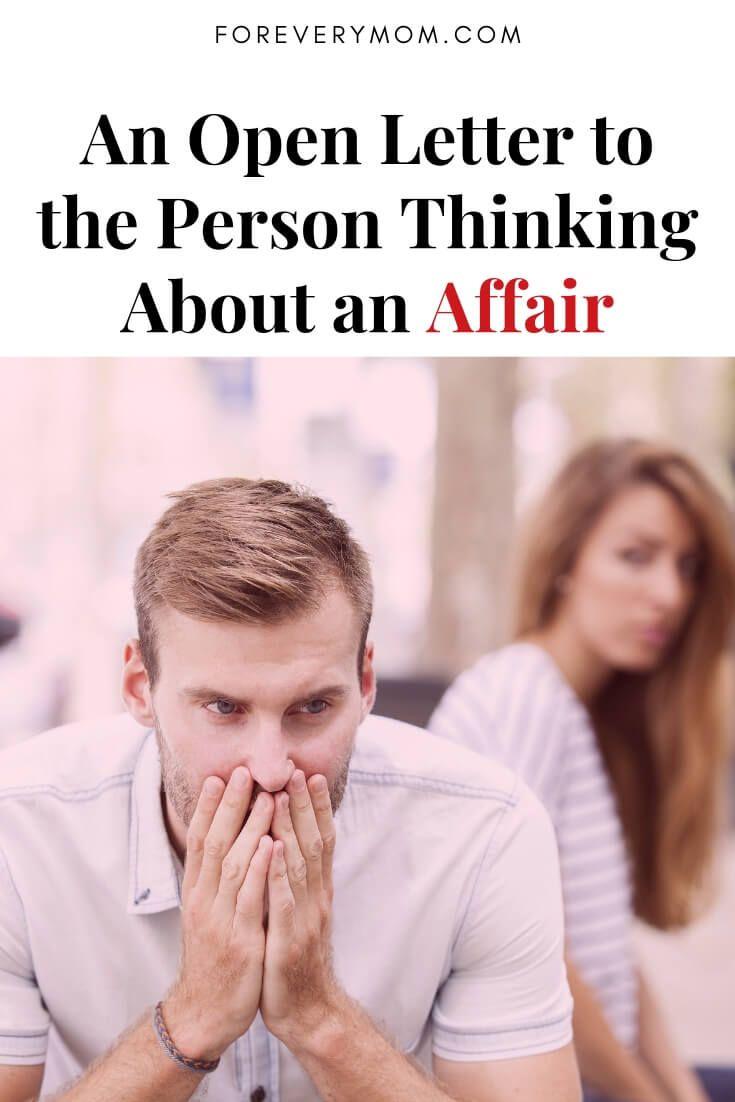 Tips for having an affair