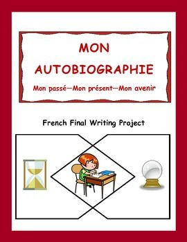 Make use of the fact that teenagers love to write about themselves.  This great writing project for intermediate French students can be done over a couple of classes, in stages, or as a year-end task.