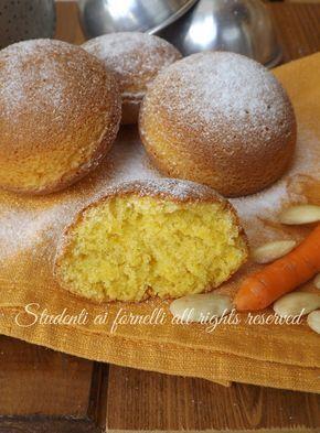tortine alle carote e mandorle arancia ricetta tortine soffici camille merendine fatte in casa ricetta