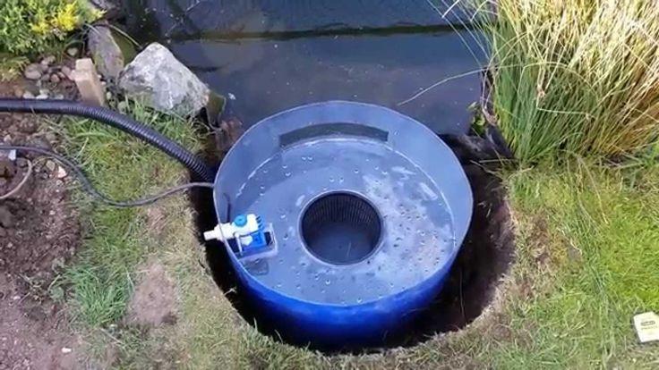 25 best ideas about pond filter system on pinterest for Homemade pond skimmer designs