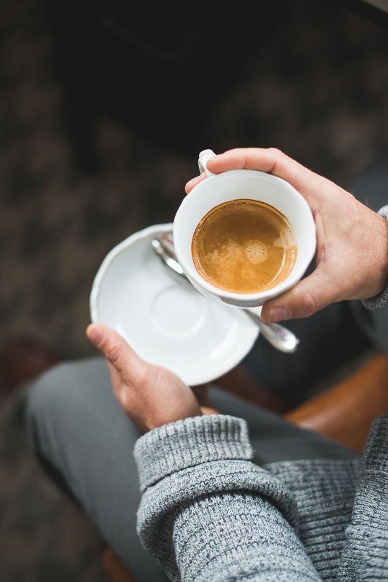 Coffee at Fairmont Le Chateau Frontenac | @whiteonrice