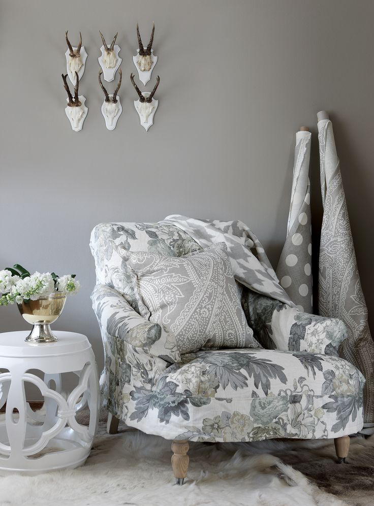 Tessa Proudfoot 11 Collection in Eucalyptus. Available through ST LEGER & VINEY