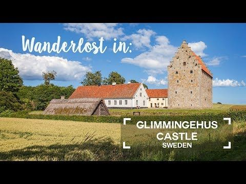 Glimmingehus Castle in south Sweden