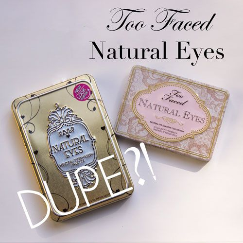 Dupe Alert? Too Faced Natural Eyes palette and the new Hard Candy Natural Eyes palette review with swatches. Check it out at There Goes Audrey http://theregoesaudreyo.blogspot.com/2015/03/too-faced-natural-eyes-vs-hard-candy.html
