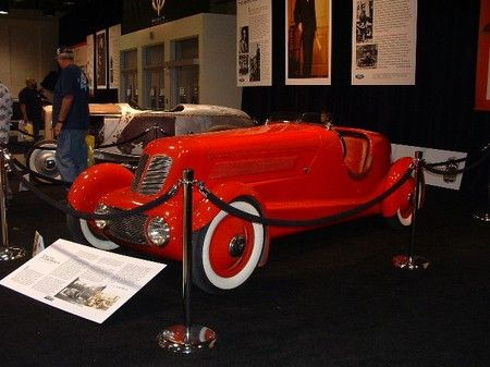 Edsel Ford's 1934 speedster.