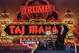 How Donald Trump Turned the Tax Code Into a Giant Tax Shelter      Donald J. Trump at the opening of the Trump Taj Mahal Casino Resort in Atlantic City in 1990. Mr. Trump had huge operating losses carried forward from earlier years that approached a billion dollars by 1995.    Now we know:Donald J. Trumpracked up losses so   huge in the early 1990s that he wouldn't have had to pay federal or New York State income tax on nearly a billion dollars in income.      None of this seems to have made…