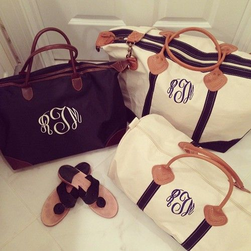 Would love a personalized travel tote! Could use as carry on for plane, then beach bag. Put on Christmas wish list