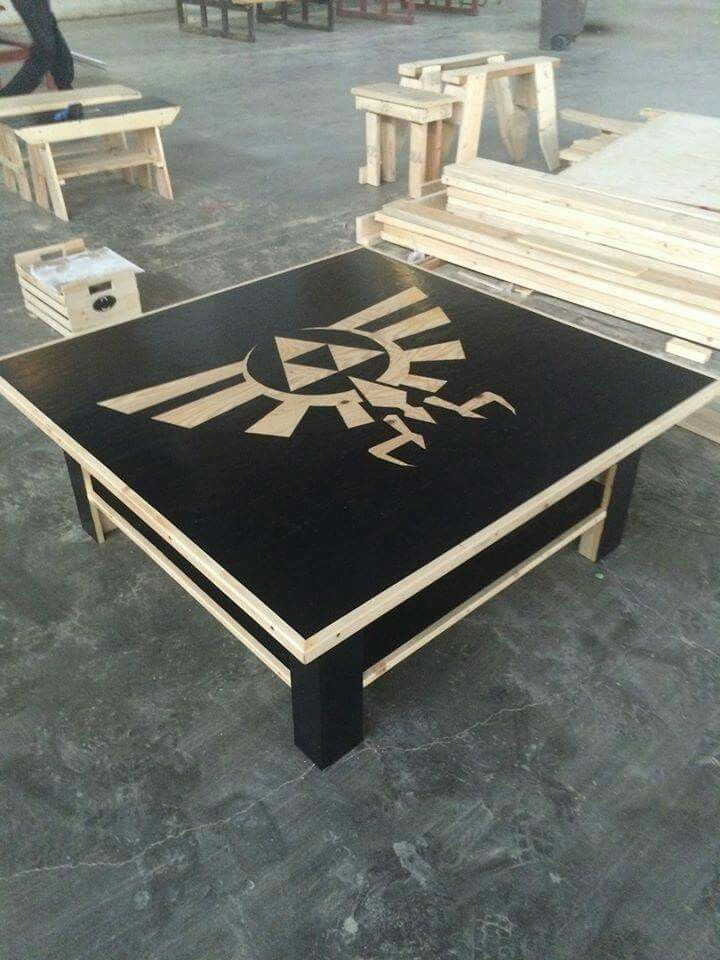Zelda Table…maybe for table to play all our board games on?