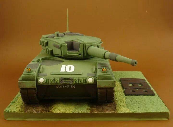 Tank cakes