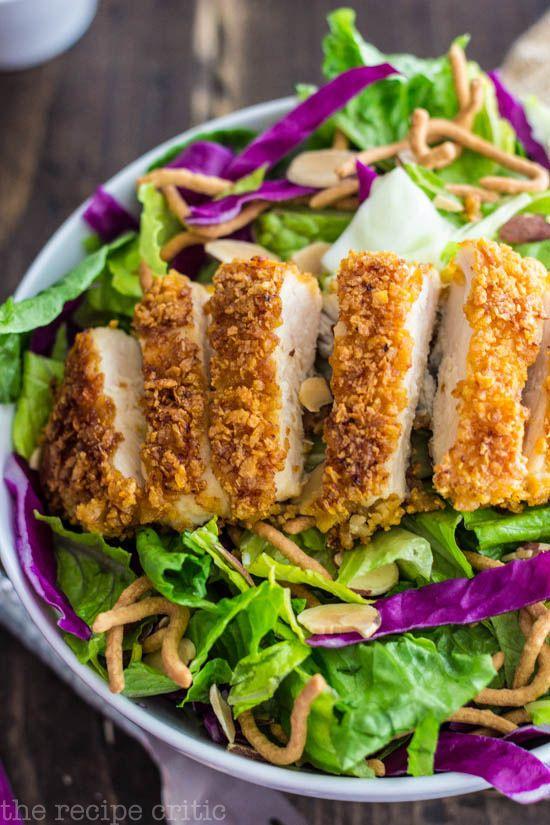 Oriental Chicken Salad: Applebee's copycat recipe! I love this stuff!