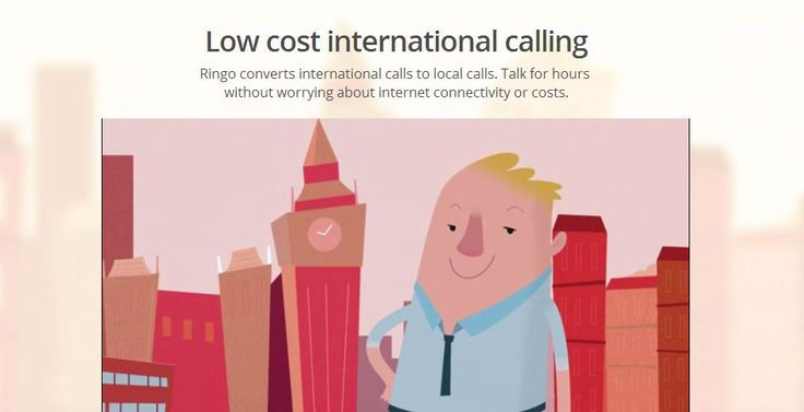 Ringo Promises High Quaility International Calling On The Cheap - Techaeris