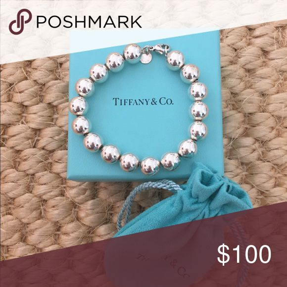 Tiffany & Co. Bead Bracelet Very Good Condition, Gently Worn Tiffany & Co. Jewelry Bracelets