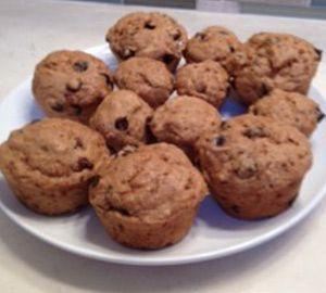 Super Healthy Spelt Chocolate Chip Muffins - Shulman Weight Loss BlogShulman Weight Loss Blog