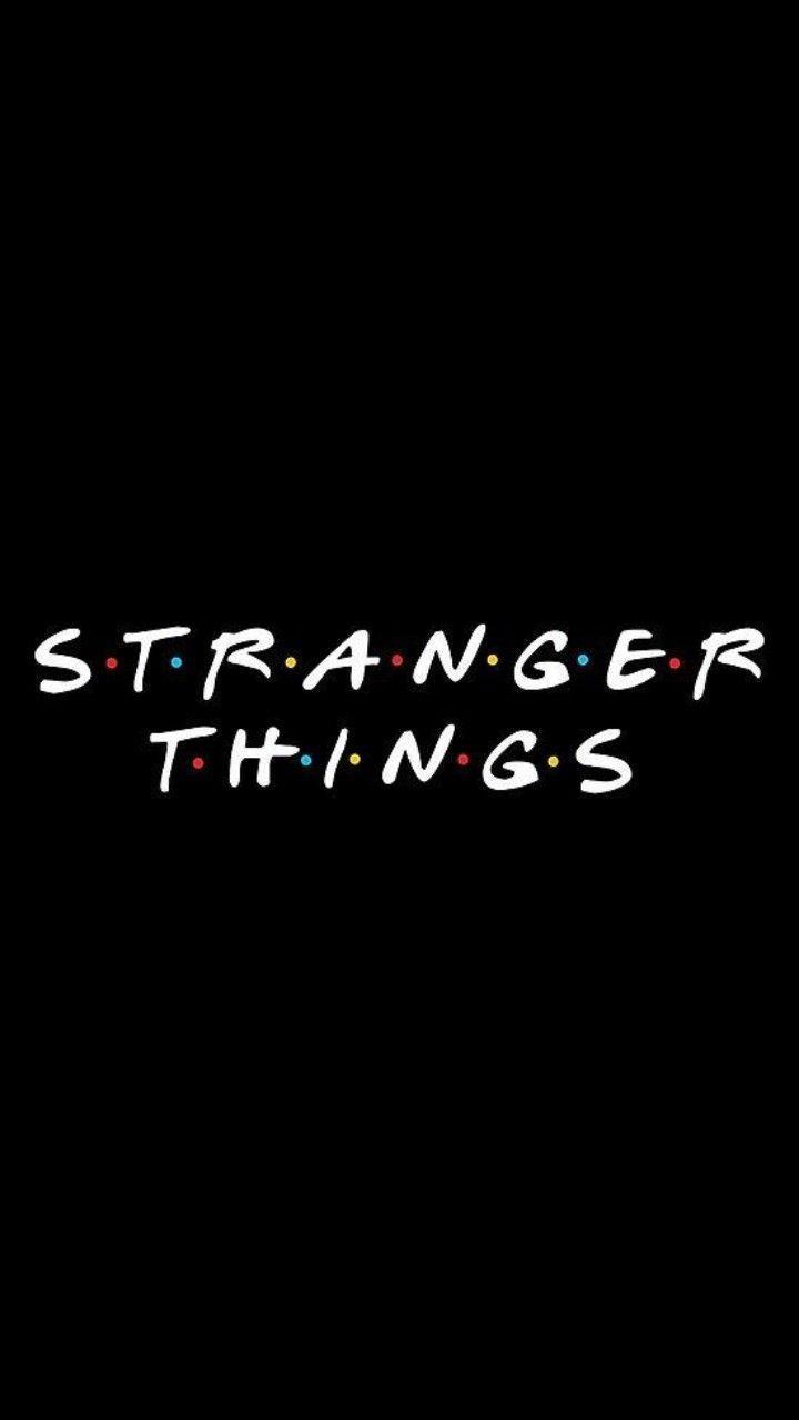 I don't know if I ought to save this to F•R•I•E•N•D•S or Stranger Th…