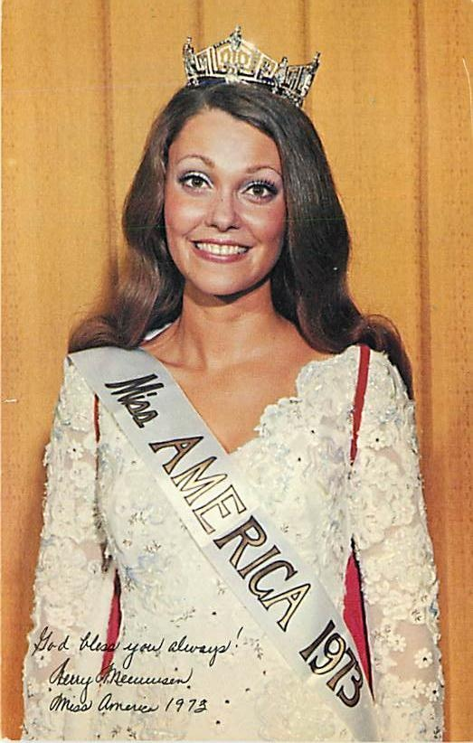 Miss America 1973 - Congratulations to the new Miss America who was just crowned tonight! Such an amazing organization of strong women!