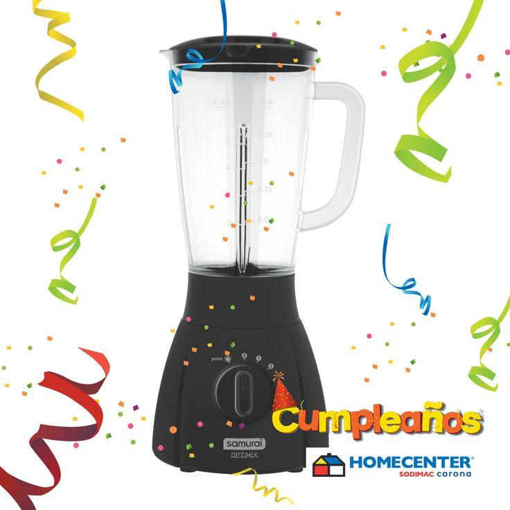 Prepara los mejores batidos para tu familia y amigos, encuentra todo para equipar tu cocina en #CumpleañosHomecenter.