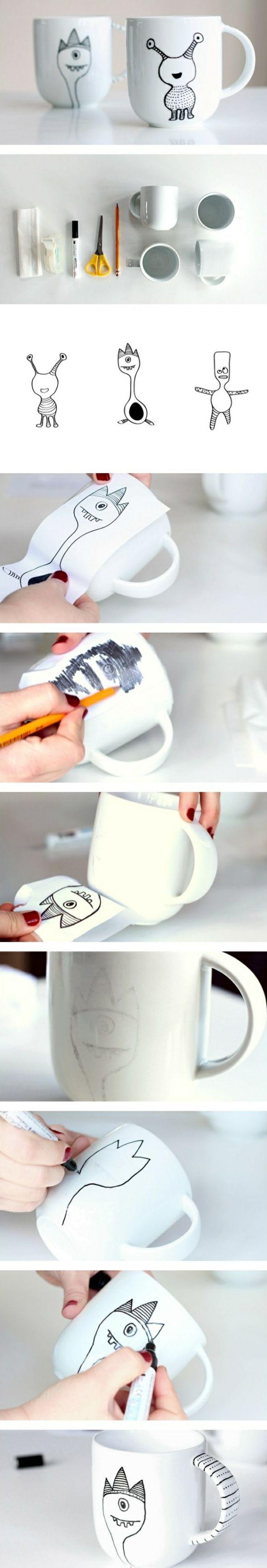 Comment faire un mug personnalisé à soi-même