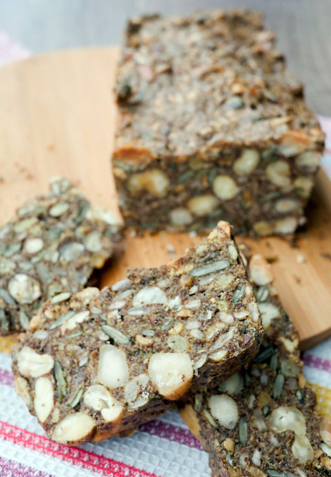 Low Carb Brot mit Nüssen und Saaten - Gaumenfreundin - Foodblog mit gesunden…