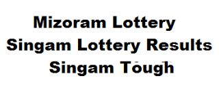 Today Lottery Results
