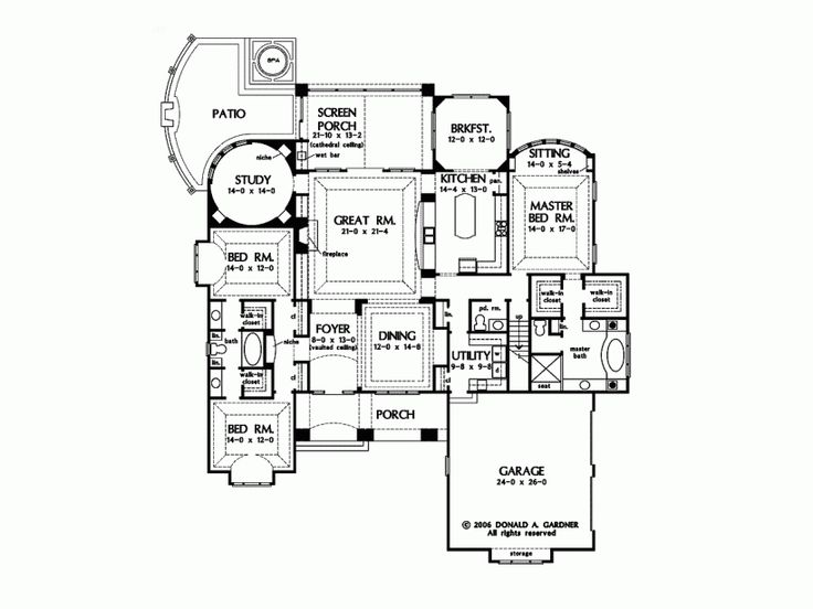 Starter home plans ideas home building plans 54327 for Starter home floor plans