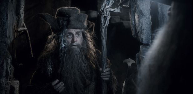 Sylvester McCoy as Radagast in The Hobbit: The Desolation of Smaug.