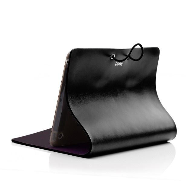 ide-home Store - Evouni Leather Arc Cover for iPad mini - Black