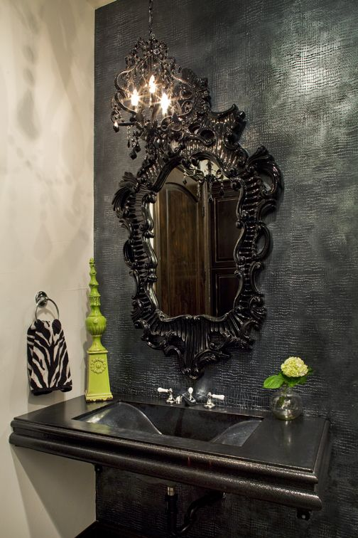 Hey! I've got that mirror AND that green decor accent....now who's got the decorating space!!!