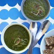 Soupe verte rafraîchissante - une recette Soupe - Cuisine
