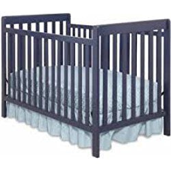 Delta Children's Products Waves 3-in-1 Fixed-Side Crib BLUE