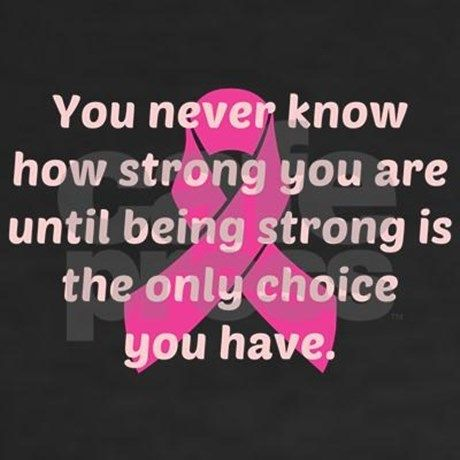 Quotes About Cancer Interesting Best 25 Breast Cancer Quotes Ideas On Pinterest  Breast Cancer