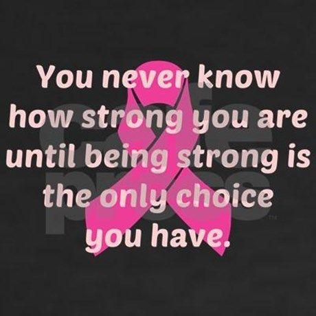 Breast Cancer Strength Shirt | CafePress.com