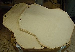 laminated archtop guitar plates for luthiers