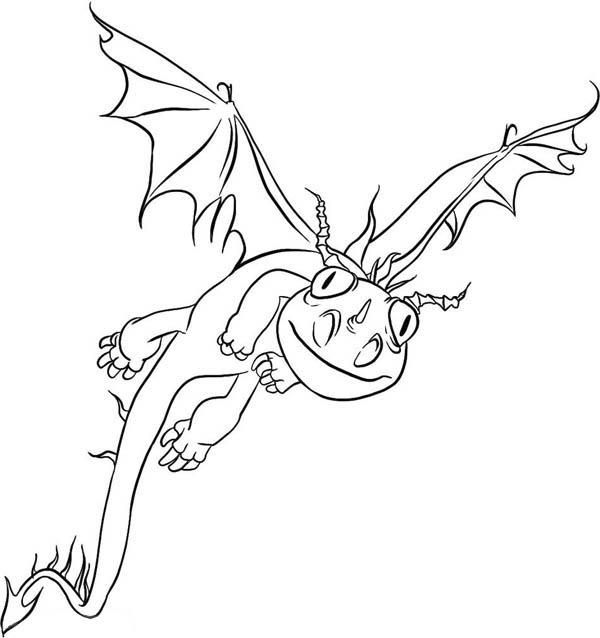 How To Train Your Dragon Coloring Pages Terrible Terror Dragon Coloring Page How Train Your Dragon Coloring Pages