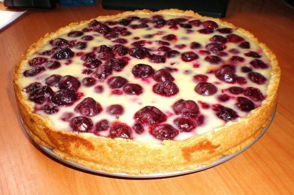 Невероятно вкусно! Готовим самый быстрый вишневый пирог в мире