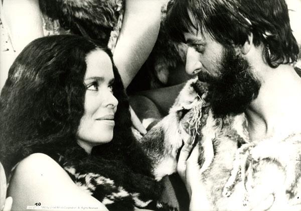Ringo Starr & Barbara Bach on Caveman: History, Ringo Starr, Beatles Women, Barbara Bach, Caveman, Of The, Starr En, Princesa Beatles, In The