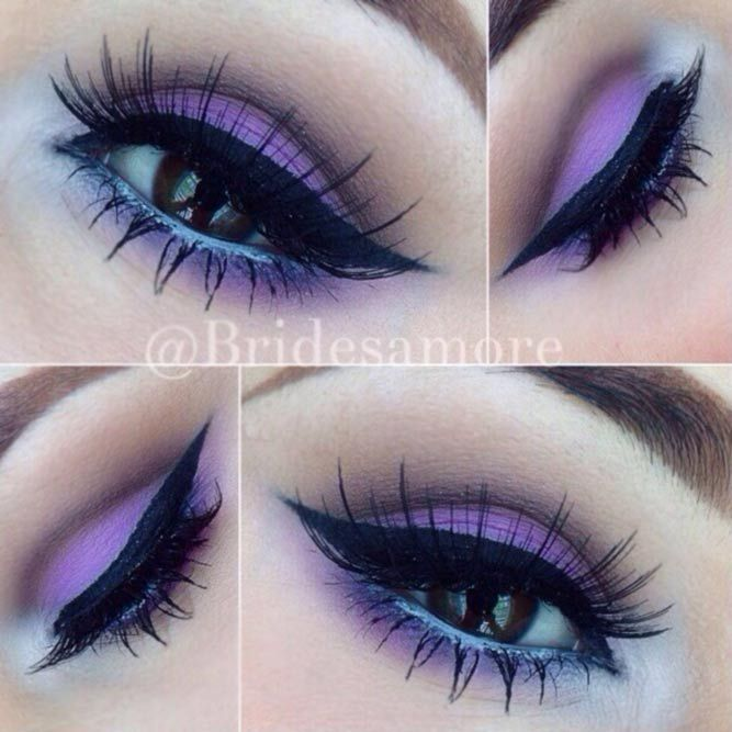 The beauty of dark brown eyes is immense. But if you know how to accentuate what is already there, correctly, you will always look gorgeous! #makeup #makeuplover #makeupjunkie #eyemakeup