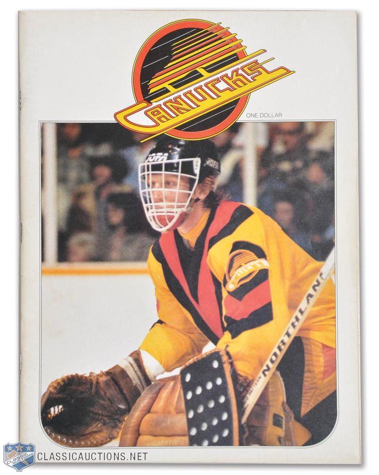 Lot Detail - Glen Hanlon's 1978-79 Vancouver Canucks Rookie Season Game-Worn Jersey Photo-Matched!
