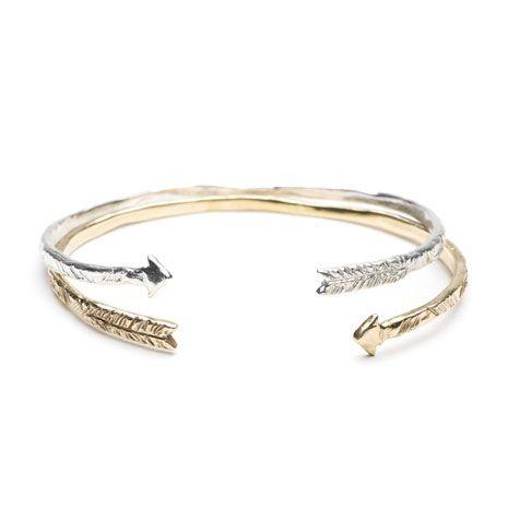 Odette NYC arrow cuff bracelet. I want!