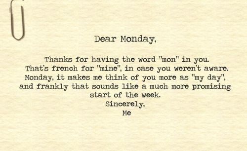 Good morning and have great start of the week! :-) #monday ...