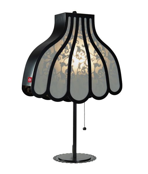 www.popsiclestuff.nl   Table lamp HOME AT GRANNIES, black